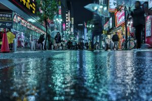 20 Japanese Words and Onomatopoeia About Rain (雨, ame)